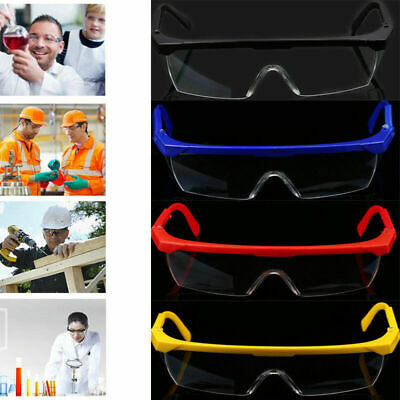 Clear Goggles Glasses Driving Eyes Protection Spectacles Medical Industrial Work