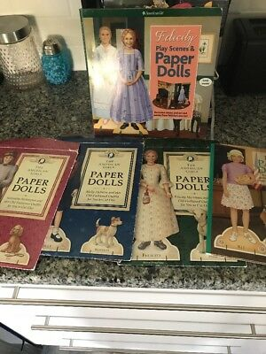 American Girl Doll Paper Dolls And Scene Sets