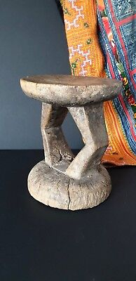 Old African Carved Wooden Stool …beautiful collection item
