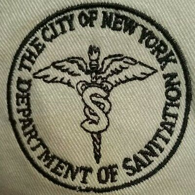 DSNY NYC New York City Department of Sanitation Hat NEW one Size