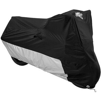 Nelson-Rigg NEW Mx MC-90402 Black Silver Extra Large Deluxe Motorcycle Cover