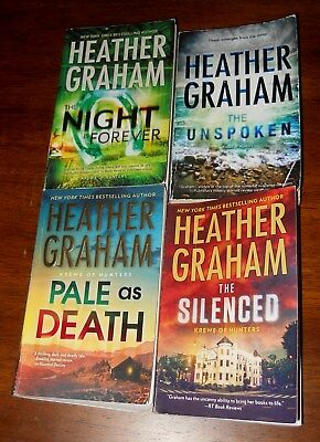 Heather Graham - lot of 4 pb books