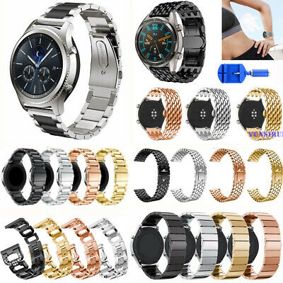 22mm Steel Watch Band For Samsung Galaxy Watch 46mm/Gear S3 Frontier/Classic S3
