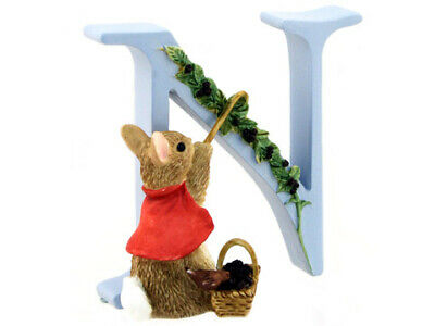 NEW Beatrix Potter Alphabet Initial N Cotton-Tail