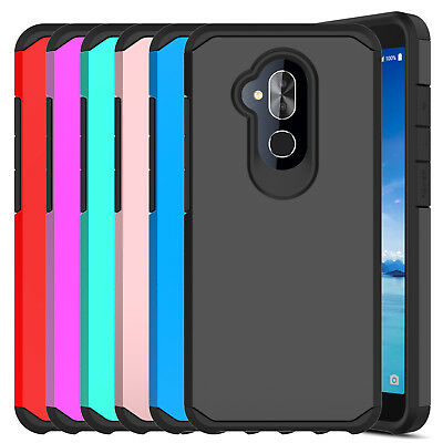 For Alcatel 7/Revvl 2 Plus 2018 Case Shockproof Hybrid Armor Hard Phone Cover