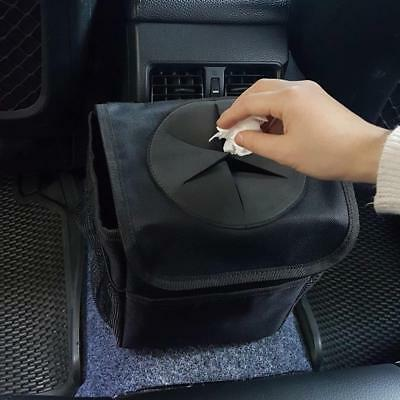Car Trash Bin Waste Basket Storage Garbage Can Litter Leakproof Bag Organizers
