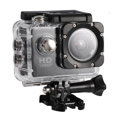 "Pro Cam 1080P Screen Lcd 2"" Sport Action Camera Videocamera Subacquea 30M"