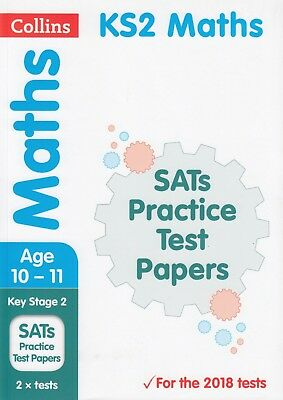 Collins Maths KS2 SATs Practice Test Papers Age 10-11 BRAND NEW BOOK (P/B 2018)