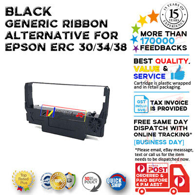 1x BRAND NEW Compatible ERC-38 BLACK Ribbon fits for Samsung SRP-270/275 Printer