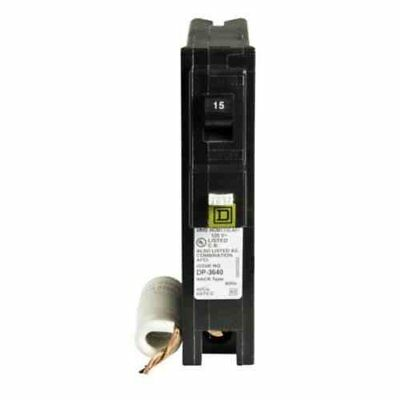 Square D by Schneider Electric HOM115CAFIC Homeline 15 Amp Single-Pole CAFCI