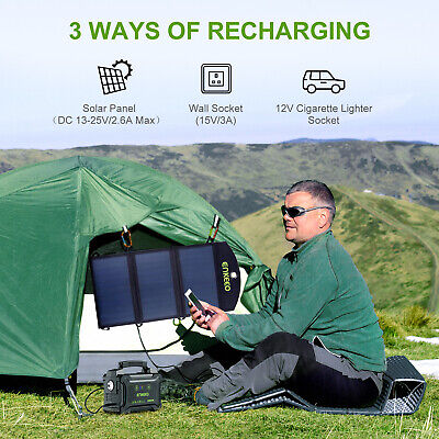 ENKEEO S220 222Wh Portable Power Supply Generador solar Powerbank Rechargeable