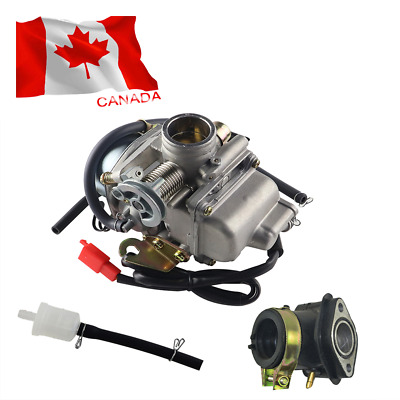 1 Set 24MM Carburettor Carb 4 Stroke GY6 110/125/150cc Scooter Moped ATV Go Kart