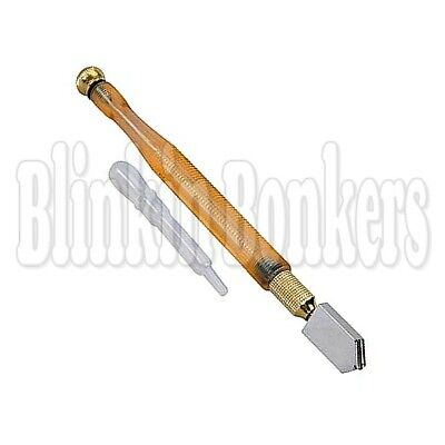 Professional Quality Oil Lubricated Glass Cutter Cut Tool Tungsten Carbide Wheel