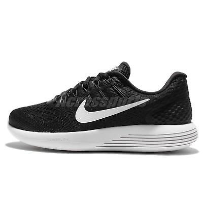 0328a143f517 Nike Wmns Lunarglide 8 Running Womens Shoes Black White AA8677-001