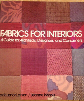 Textildesign, Fabrics for Interiors, A Guide for Architects, Designers