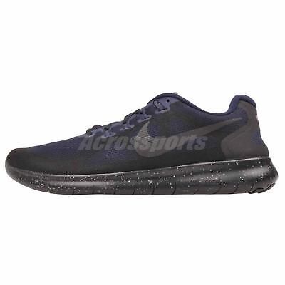 pretty nice 448b6 d8ad7 Nike Free RN 2017 Shield Running Mens Shoes NWOB Black AA3760-001
