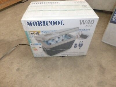 NEW Waeco Mobicool W40 Thermoelectric Coolbox AC/DC - UK Model RRP £149.99