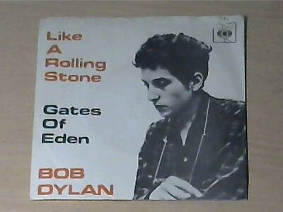"""7"""" BOB DYLAN * Like A Rolling Stone / Gates Of Eden (MADE IN GERMANY CBS 1962)"""