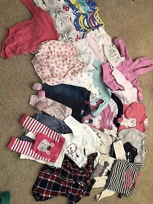 Large baby girl 3-6 months bundle Includes Next, M & S, H&M, Joules, M & Co