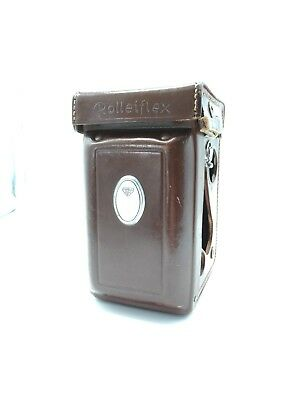 Rolleiflex 2.8F Leather Case - Very Good Condition