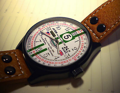 Le Mans 1959 Carroll Shelby & Roy Salvadori, Aston Martin Styled Tribute Watch