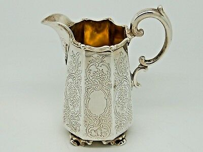 Antique Victorian Silver Cream Jug London 1842 – Charles Reily & George Storer