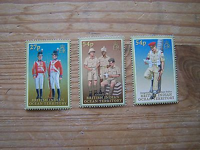 British Indian Ocean Territory,military Uniforms,3Vals,u/mint.