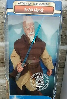 "Star Wars 2002 Attack of the Clones 12"" Inch Ki-Adi-Mundi - Exclusive"
