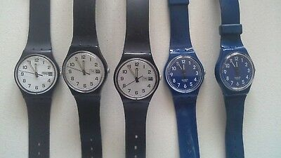 Job Lot Of Swatch Watches Day Date 1999 2009
