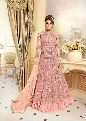 Indian anarkali salwar kameez suit designer bollywood pakistani ethnic Dress eid