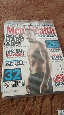 Mens Health Magazine JULY 2018 With FREE BOOK! - (BRAND NEW BACK ISSUE)