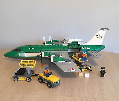 Lego Plane City Cargo Terminal 60022with Instructions See