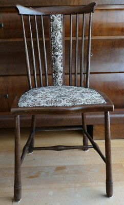 Antique wood brown chair