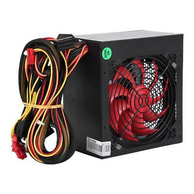 550 Watt Intel AMD Gaming Computer PC Netzteil Power Supply 12cm leise Lüfter BL