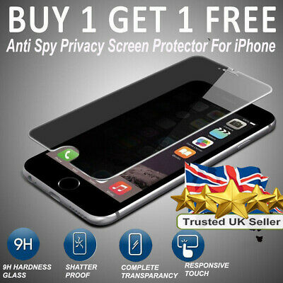 For iPhone 7,7plus & 8plus Anti Spy Tempered Glass privacy Screen Protector Film