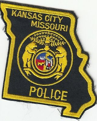 Kansas City Police State Shape Missouri Mo Patch