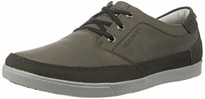 SKECHERS MENS 11 M Cardova Sorito 64663 Charcoal Relaxed Fit