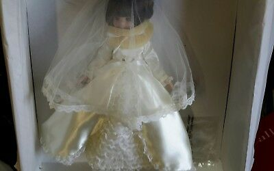 """14"""" Tonner """"MEMORIES"""" BETSY MCCALL, 25 YEAR Bride doll limited edition"""