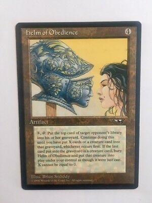 MTG Magic the Gathering, Helm of Obedience (Alliances)1996
