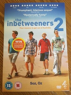 The Inbetweeners 2 Movie DVD Brand New And Sealed Region 2 BW