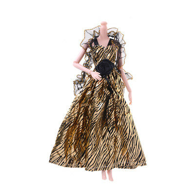 Fashion Party Princess Dresses/Evening Clothes/Gown For Barbie Doll TB