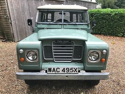 "Land Rover Series 3 III 88"" 2.25 Petrol,New MOT, Ex Factory WAC 495X, Overdrive"