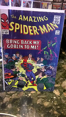 Amazing Spider-Man #27 Aug 1965 5Th Green Goblin Lee Ditko