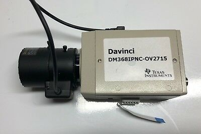 Network Camera Texas Instruments DM368IPNC-OV2715 With Tamron Lens