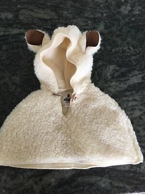 Irish Wool Hooded Cape  For 6-12 Month Old.