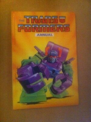 Vintage 1988 Transformers Annual Unclipped