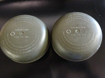 Lot of 2 Vintage Gas Mask Filter Canister Sealed Unopened NBC 40mm NATO