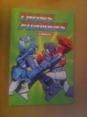 Vintage 1989 Transformers Annual Unclipped