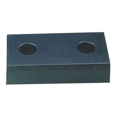 VFM Black Heavy Duty Loading Dock Bumper 3-Hole 330102 [SBY13698]