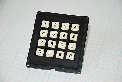 "Grayhill 86YY3216B-510 Keypad  2.75 x 3.0""  Hex Layout 17 Pin   FREE SHIP  (A1)K"